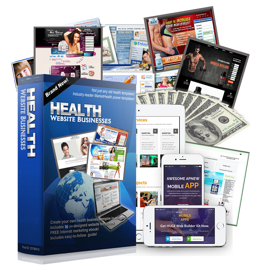 Health Website Businesses
