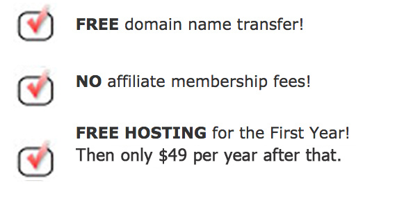 affiliate turnkey website special deals