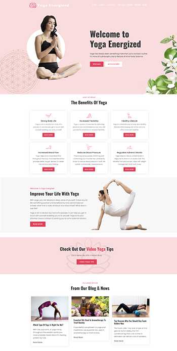 yoga website business for sale